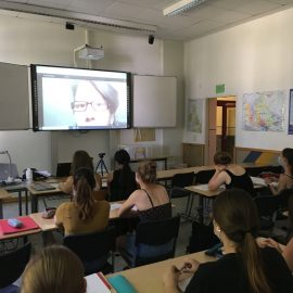 """Die Frage nach den Menschenrechten: """"Derechos humanos"""" im Spanischunterricht am SBG"""