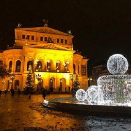 Musikkurs besucht Alte Oper Frankfurt