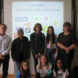 """""""Das Smartphone als Familienmitglied"""" – Workshops und Informationsabend zur Förderung der Medienkompetenz am SBG"""