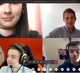 Videokonferenz mit Michael Bloss, Mitglied des Europäischen Parlaments