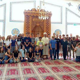 Zu Besuch in der Sultan-Ahmet-Moschee