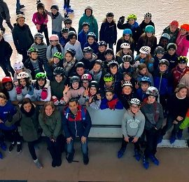 Eislauftag der Klassenstufe 6 in Wiesloch