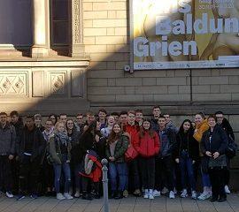 Exkursion in die staatliche Kunsthalle nach Karlsruhe